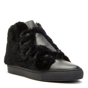 Honey Faux Fur Sneaker
